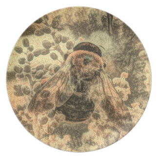 Bumblebee Plates