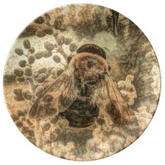 Bumblebee Porcelain Plate