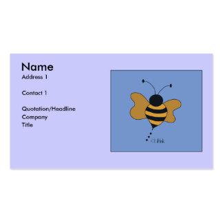 BumbleBee Profile Card Business Card Template