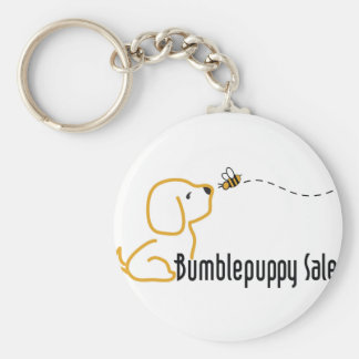 BumblePuppy Sales Basic Round Button Key Ring