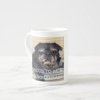 Bumblesnot Bone China Mug: Proud to be Bumblehead Tea Cup