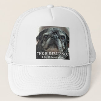 Bumblesnot Hat: Adopt! Don't shop! Trucker Hat