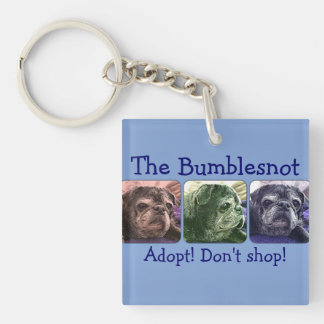 Bumblesnot keychain:  Color Me Bumble Key Ring
