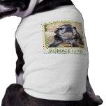 Bumblesnot Pet Shirt: Bumble Love Sleeveless Dog Shirt