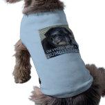 """Bumblesnot pet shirt: Proud to be a """"Bumblehead"""" Sleeveless Dog Shirt"""