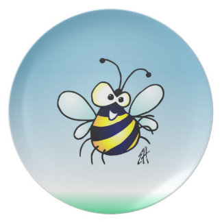 Bumbling Bee Dinner Plates