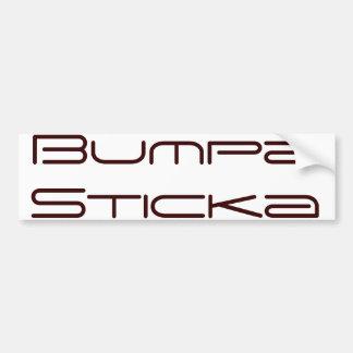 Bumpa Sticka Bumper Sticker