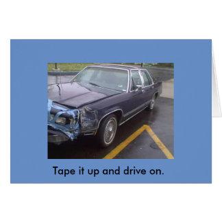 Bumper Car Card