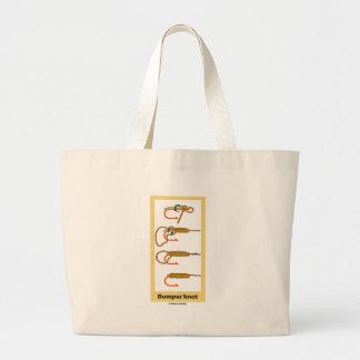 Bumper Knot Jumbo Tote Bag