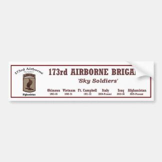 Bumper.Sticker - 173rd Airborne Brigade Bumper Sticker