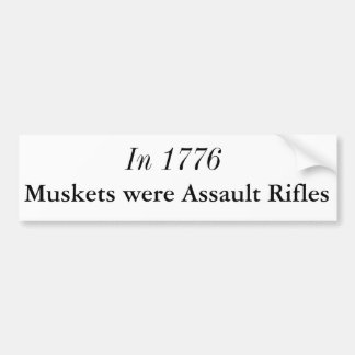 Bumper Sticker about the 2nd Amendment