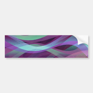 Bumper Sticker Abstract background