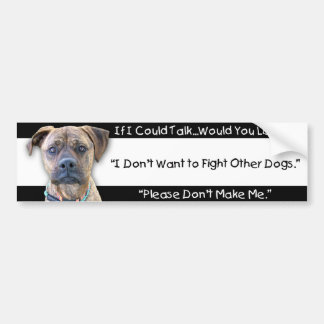 Bumper Sticker - Against Animal Cruelty
