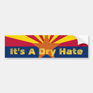 Bumper Sticker: Arizona Immigration Bumper Sticker