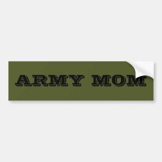 Bumper Sticker Army Mom