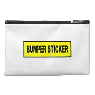 Bumper Sticker Travel Accessories Bag