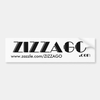 Bumper Sticker Business ZIZZAGO
