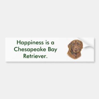 Bumper Sticker : chesapeake Bay Retriever