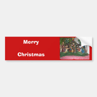 Bumper Sticker/Christmas/Nativity Bumper Sticker