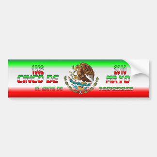 Bumper-Sticker-Cinco-de-Mayo-Set-3-FLAG Bumper Sticker