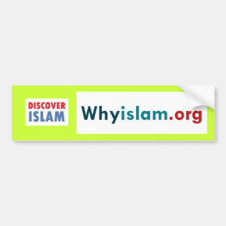 Bumper Sticker Discover Islam (1)
