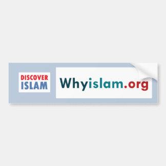 Bumper Sticker Discover Islam (10) Car Bumper Sticker