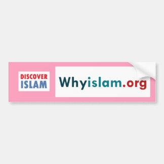 Bumper Sticker Discover Islam (11)