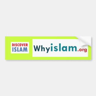 Bumper Sticker Discover Islam (12)