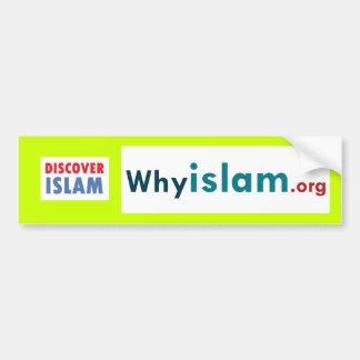 Bumper Sticker Discover Islam 13