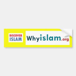 Bumper Sticker Discover Islam 15