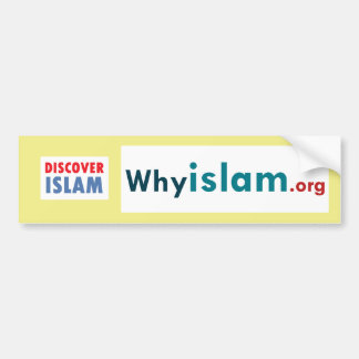 Bumper Sticker Discover Islam 16