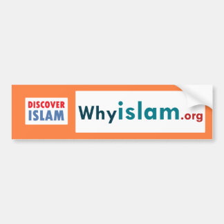 Bumper Sticker Discover Islam (17)