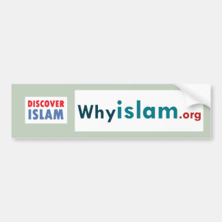 Bumper Sticker Discover Islam (19)