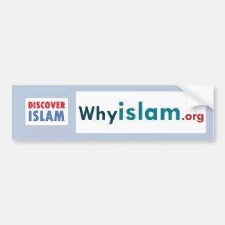 Bumper Sticker Discover Islam (20) Car Bumper Sticker