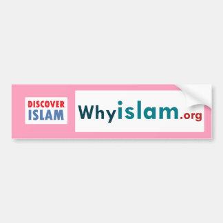 Bumper Sticker Discover Islam (22) Car Bumper Sticker