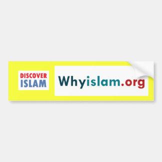 Bumper Sticker Discover Islam 3
