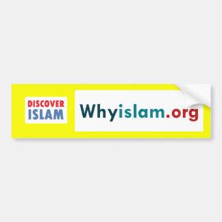 Bumper Sticker Discover Islam (4)