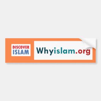 Bumper Sticker Discover Islam (6) Car Bumper Sticker