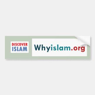 Bumper Sticker Discover Islam (8)