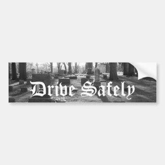 Bumper Sticker - Drive Safely Car Bumper Sticker