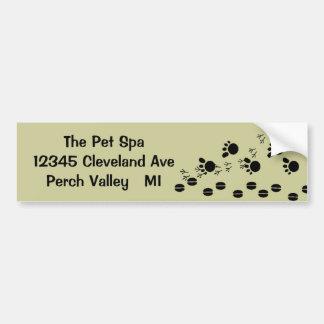 Bumper Sticker Farm Pet Hooves Paws Hoofs Tracks