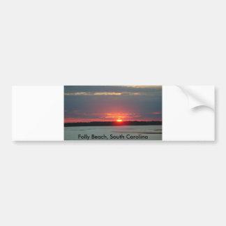Bumper Sticker, Folly Beach, South Carolina Bumper Sticker