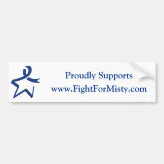 Bumper Sticker for FightForMisty.com