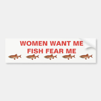 BUMPER STICKER FOR THE FISHERMAN