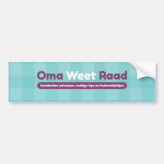 bumper sticker granny knows Council