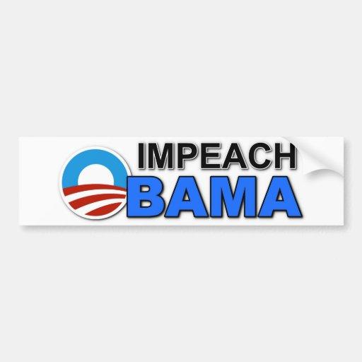"""Bumper Sticker """"IMPEACH OBAMA"""""""