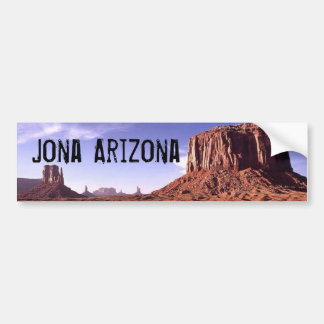 Bumper Sticker-Jona Arizona Bumper Sticker