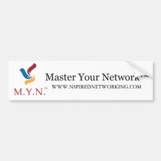 Bumper Sticker - Master Your Network