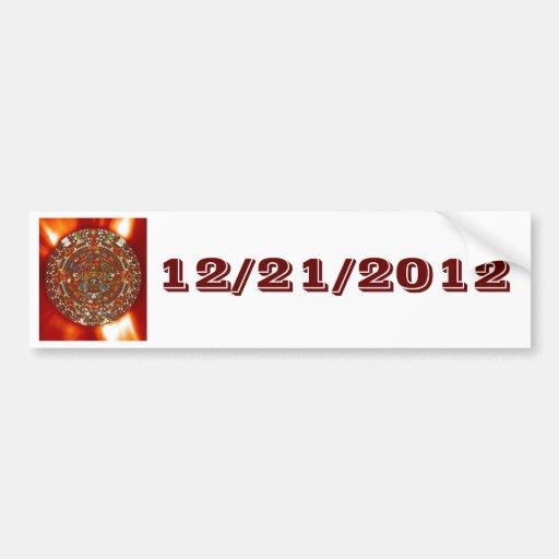 Bumper Sticker maya aztec calendar