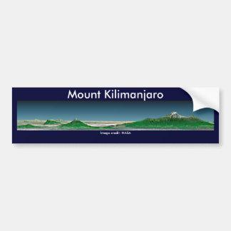 Bumper Sticker / Mount Kilimanjaro